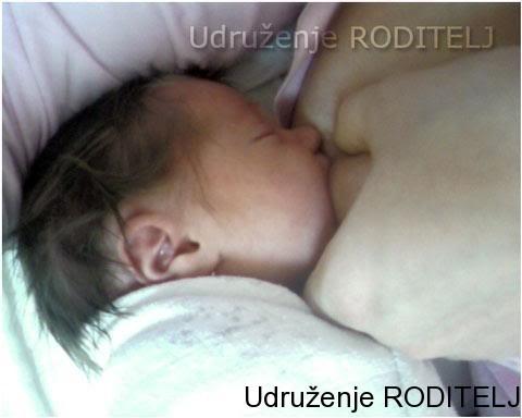 dojenje u porodilistu
