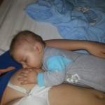 Fotografija 37: Mama Beba Krizbai, beba Leopold