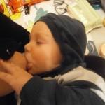 Fotografija 10: Mama Belma i beba Uroš