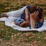 34. Olivera Lazarević, beba Andrej, 3 meseca