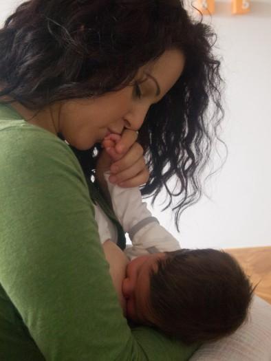 48. Ivana Elesin, beba Sara, 2 meseca