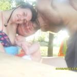 33. Helena Milutinović, beba Simona, 6 meseci
