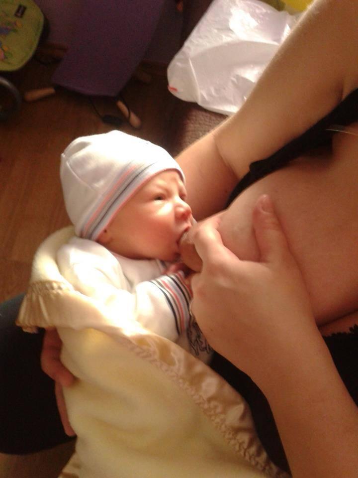 Fotografija 47: Beba Sergej Stojanović, mama Aleksandra