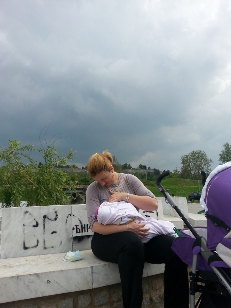 Fotografija broj 54: mama Tijana Burčul, beba Neva Burčul 3,5 meseci