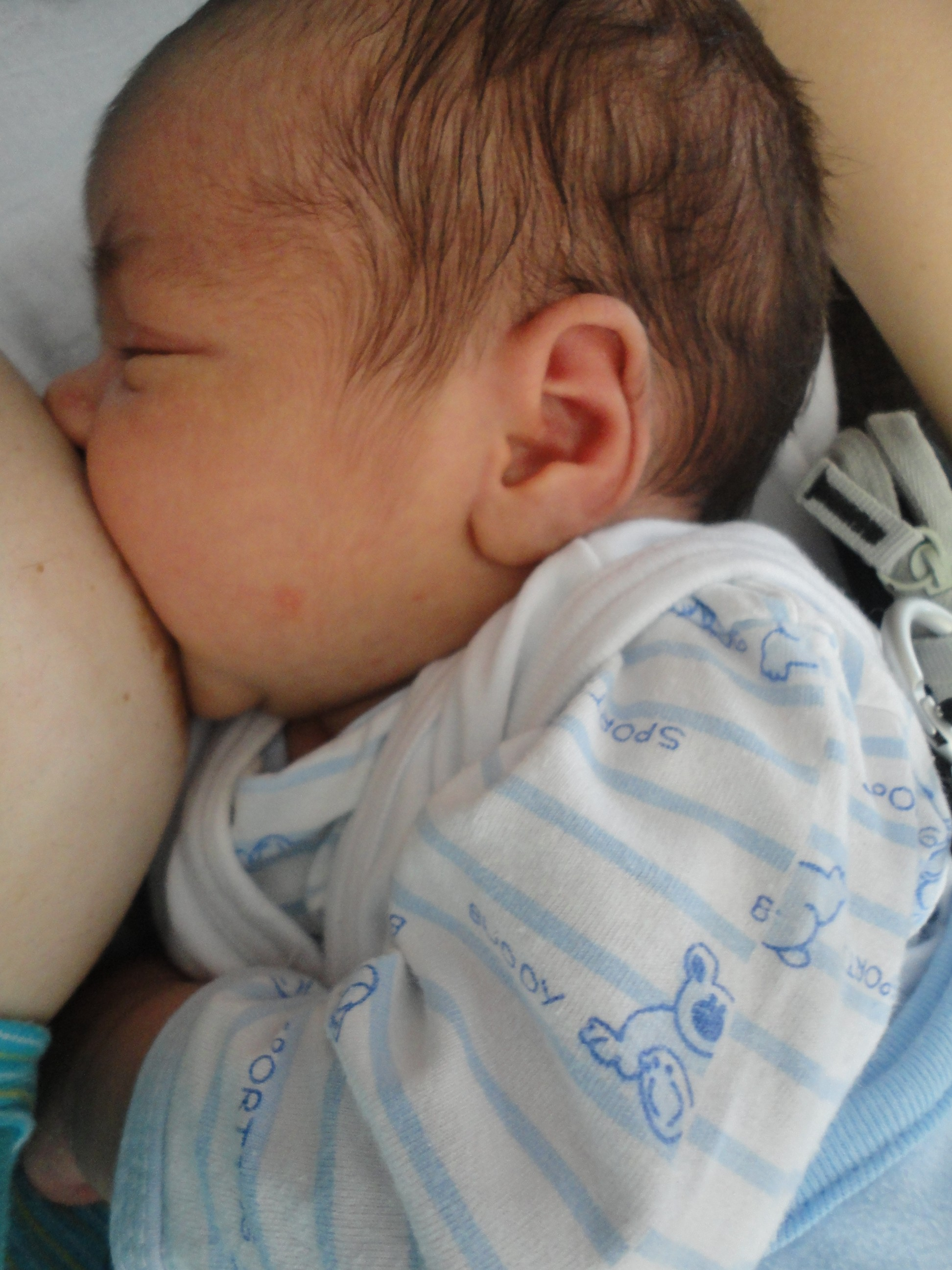 Fotografija 65: Mama Milena Kostić, beba Nikolaj, na slici star mesec dana