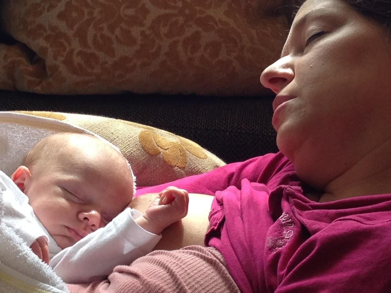 Fotografija 15: Mama Saška i beba Matija
