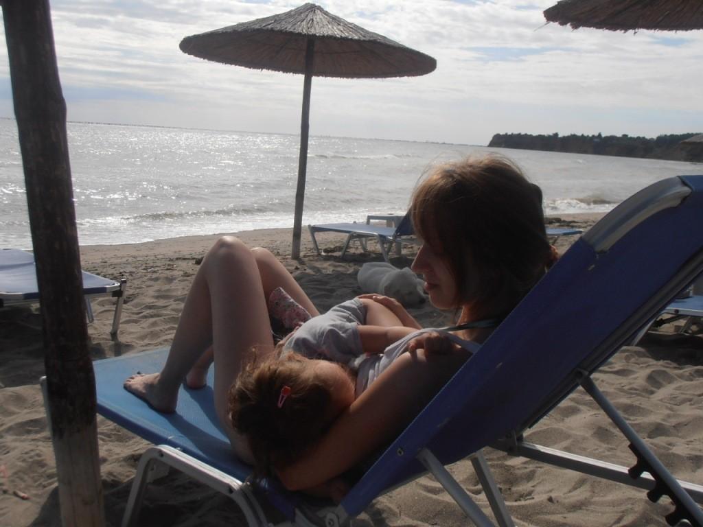 Fotografija 57: mama Jovana i devojčica Jana (2 godine)