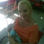 otografija 91: mama Mirjana i beba Lola( tada 7 meseci)