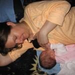 Fotografija 80: Mama Jelena Torbica, beba Anastasija 1 mesec